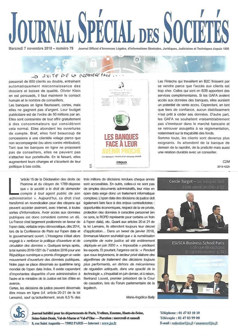 JSS Banques face avenir - 2