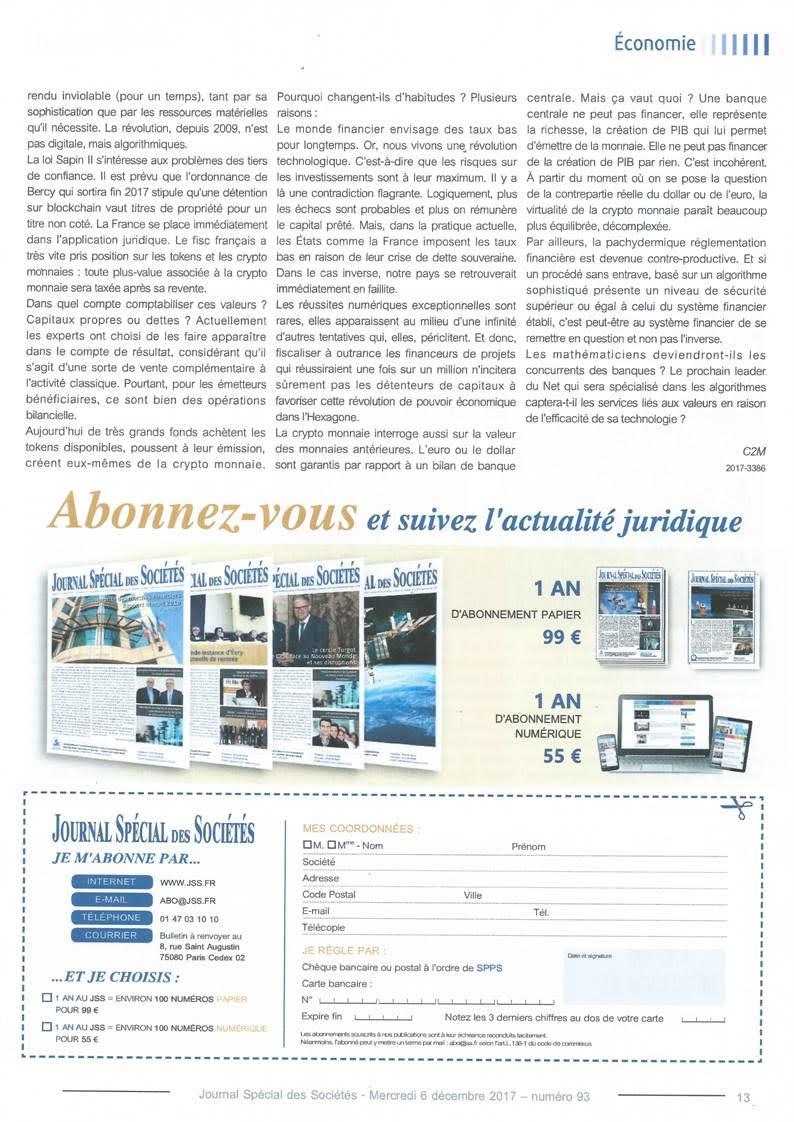 JSS nouveaux modeles economiques - 2