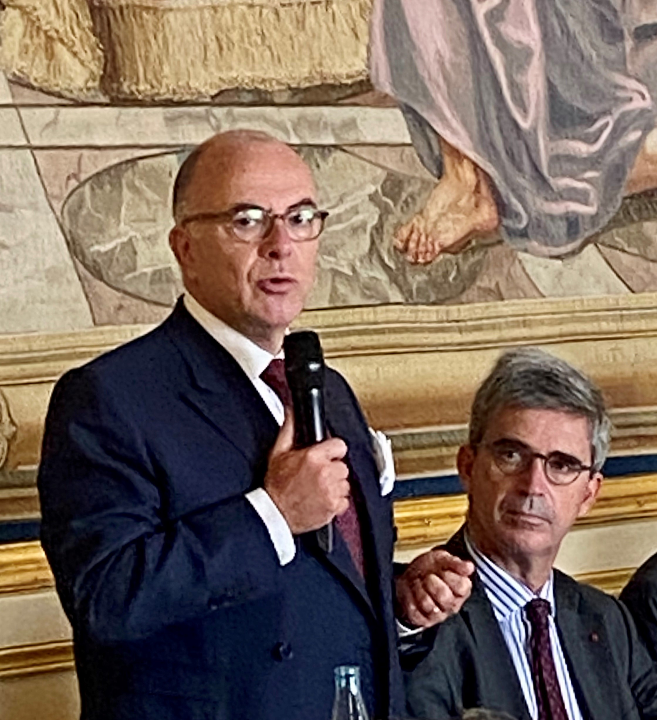 Bernard Cazeneuve au Cercle Turgot